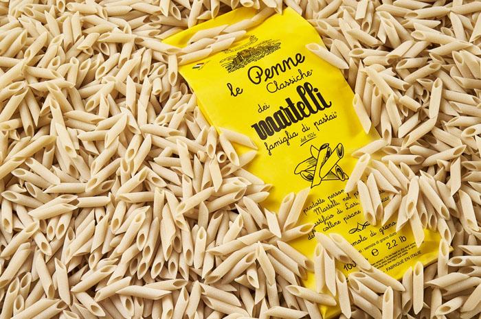 Le penne classiche del pastificio Martelli