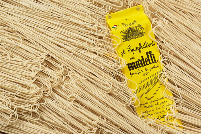 Pasta Martelli - spaghettini